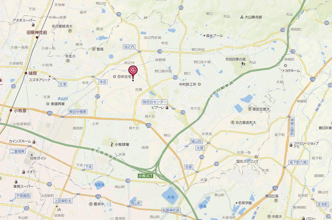 小牧地図広域